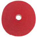 CableWholesale 30CT-07150 Hook and Loop Tape, 3/4 inch Wide, Red, 50ft Roll