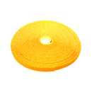 CableWholesale 30CT-08150 Hook and Loop Tape, 3/4 inch Wide, Yellow, 50ft Roll