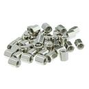 CableWholesale 30D1-02440 Hex Nut, # 4 - 40, 100 Pieces, 5.0mm