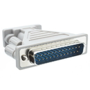 CableWholesale 30D1-05300 Serial / AT Modem Adapter, DB9 Female to DB25 Male