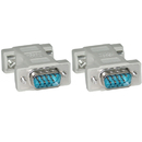 CableWholesale 30D1-18100 Null Modem Adapter, DB9 Male to DB9 Male