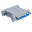 CableWholesale 30D3-38200 Null Modem Adapter, DB25 Male to DB25 Female