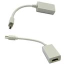 CableWholesale 30H1-63000 Mini DisplayPort to HDMI Adapter Cable, Mini DisplayPort (MiniDP/mDP) Male to HDMI Female, Only works from DisplayPort to HDMI, 6 inch