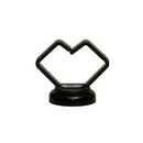 CableWholesale 30MA-12202 3/4 inch Black Magnetic Cable Holder, Strong Polymer Cable Holder, 10 lbs Pull Strength, UL Listed, 10 pieces/bag