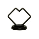 CableWholesale 30MA-12203 1 inch Black Magnetic Cable Holder, Strong Polymer Cable Holder, 10 lbs Pull Strength, UL Listed, 10 pieces/bag