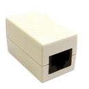 CableWholesale 30X8-02400WH Cat6 Coupler, White, RJ45 Female, Unshielded