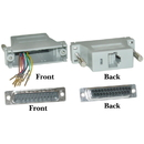 CableWholesale 31D3-37200 Modular Adapter, Gray, DB25 Male to RJ45