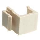 CableWholesale 321-120IV Keystone Insert, Beige/Ivory, Blank