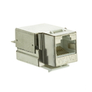 CableWholesale 33X6-520 Shielded Cat6a Keystone Jack, RJ45 Female to 110 Punch Down