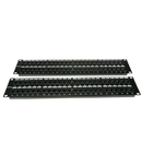 CableWholesale 68PP-03096 Rackmount 96 Port Cat5e Patch Panel, Horizontal, 110 Type, 568A & 568B Compatible, 4U