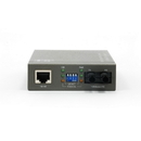 CableWholesale 71F1-101ST Ethernet to Multimode Fiber Optic Converter, RJ45 (100Base-TX) to Fiber-ST (100Base-FX) 2km