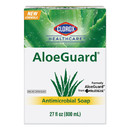 CableWholesale 8302-06101 Clorox AloeGuard Antimicrobial Soap, Aloe Scent, 27 oz Bag