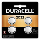 CableWholesale 9081-13004 Duracell CR2032, 10-year guarantee, DL2032B4PK, 4/pack