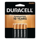 CableWholesale 9082-01008 Duracell CopperTop Alkaline Batteries, AAA, MN2400B8Z, 8/PK