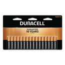 CableWholesale 9082-01016 Duracell CopperTop Alkaline Batteries, AAA, MN2400B16Z, 16/PK