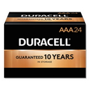 CableWholesale 9082-01024 Duracell CopperTop Alkaline Batteries, AAA, MN2400B24000, 24/PK