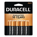 CableWholesale 9082-02008 Duracell CopperTop Alkaline Batteries, AA, MN1500B8Z, 8/PK