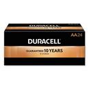 CableWholesale 9082-02024 Duracell CopperTop Alkaline Batteries, AA, MN1500B24, 24/PK