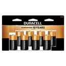 CableWholesale 9082-03008 Duracell CopperTop Alkaline Batteries, C, MN14RT8Z, 8/PK