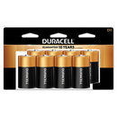 CableWholesale 9082-04008 Duracell CopperTop Alkaline Batteries, D, MN13RT8Z, 8/PK
