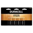CableWholesale 9082-05004 Duracell CopperTop Alkaline Batteries, 9V, MN16RT4Z, 4/pk