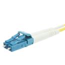CableWholesale LCLC-01203 Fiber Optic Cable, LC / LC, Singlemode, Duplex, 9/125, 3 meter (10 foot)