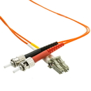 CableWholesale LCST-11130 Fiber Optic Cable, LC / ST, Multimode, Duplex, 62.5/125, 30 meter (100 foot)