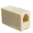 CableWholesale MC-6P6C-RE Inline Telephone Coupler (Voice), RJ12, 6P/6C