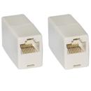 CableWholesale MC-8P8C-ST RJ45, 8P8C, (Straight) Telephone Inline Coupler