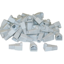 CableWholesale SR-8P8C-GY RJ45 Strain Relief Boots, Gray, 50 Pieces Per Bag