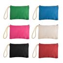 Aspire 12PCS Canvas Zipper Pouch, Tool Bag, Party Favor Pouch, 6 11/16 x 4 3/4 Inch