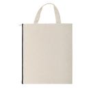 Aspire 20-Pack Handle Zipper File Bags Canvas Blank Bags for DIY Project