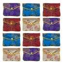 Aspire 120 Pieces Jewelry Pouch, Zipper Purse Gift Bags, Snap Closure - 3 x 4 Inch