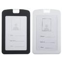 GOGO 10PCS Environmental Silicone Rubber ID Badge Holder, Dustproof Waterproof ID Card Holder