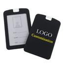 GOGO 50 PACK Custom Silicone ID Badge Holder, Waterproof Environmental ID Card Holder