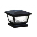 Classy Caps FS100B 5X5/4X4/3.5X3.5 Black Fairmont Solar Post Cap