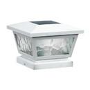 Classy Caps FS100W 5X5/4X4/3.5X3.5 White Fairmont Solar Post Cap