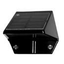 Classy Caps SL178 Black Aluminum Deck & Wall Solar Light