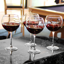 Cathy's Concepts 1109R Red Wine Glasses