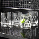 Cathy's Concepts 1112 Etched Drinking Glasses