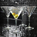 Cathy's Concepts 1281 Martini Glasses (Set of 4)