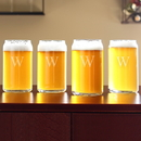Cathy's Concepts 1289-4 Craft Beer Can Glasses (Set of 4)