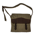 Cathy's Concepts 2153 Personalized Canvas & Leather Messenger Bag
