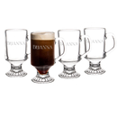 Cathy's Concepts 4114 Personalized 10 oz. Irish Glass Coffee Mugs