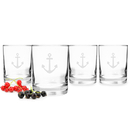 Cathy's Concepts A1113 Anchor Drinking Glasses (Set of 4)