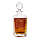 Cathy's Concepts BO-1295 Personalized Groomsman Bow Tie 32 oz. Square Whiskey Decanter