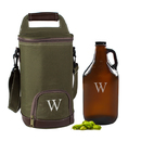 Cathy's Concepts CS2215 Personalized Insulated Growler Cooler w/ Amber Growler