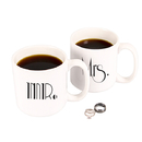 Cathy's Concepts GMM-3900 Mr. & Mrs. Gatsby 20 oz. Large Coffee Mugs (Set of 2)