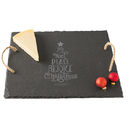 Cathy's Concepts H17-2185T Personalized Christmas Tree Slate Serving Board