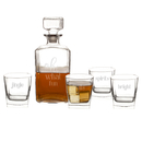 Cathy's Concepts H17-S1193 Oh What Fun 5 pc. Decanter Set